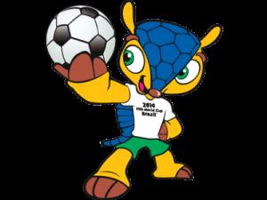 Fuleco, mascotte de la Coupe du monde brésilienne