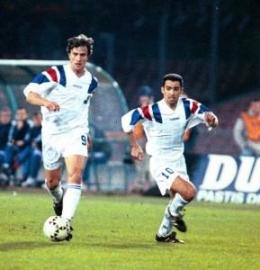Autant de sélections sous le maillot du PSG que Ginola et Djorkaeff