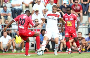 Défaite pour les débuts du PSG de QSI à Sion