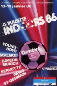 le premier PSG-Bayern, au tournoi de Genève en 1986