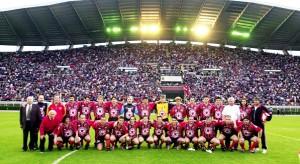 """en 2002, les anciens du Vardar avaient """"fêté"""" leur titre de champion..."""