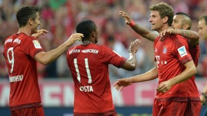10 victoires pour le Bayern 2015-2016