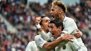 au moins un but pour le PSG en Ligue 1 depuis le début de la saison