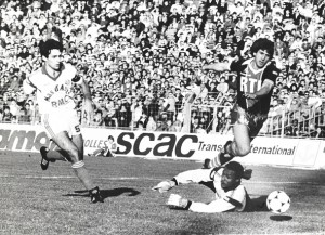 Susic face à Marseille en 1985-1986
