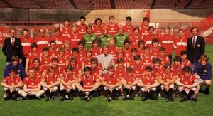 Manchester United 1985-1986 : dauphin de Tottenham en Angleterre avec 10 victoires