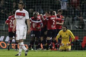 la déception de Thiago Motta et Sirigu lors de la dernière défaite du PSG à Lille