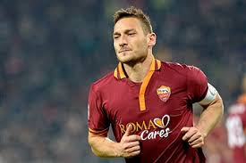 Totti, star de l'AS Roma en 2013-2014