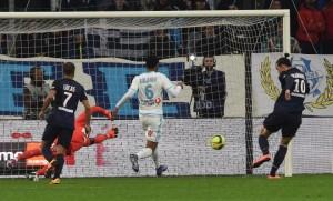 le but d'Ibra à Marseille en février 2015
