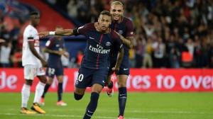 le feu d'artifice pour Neymar la saison dernière face à Toulouse