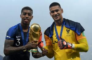Kimpembe - Areola : deux titis champions du monde