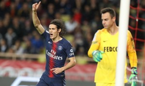 un record égalé au PSG pour Cavani à Monaco