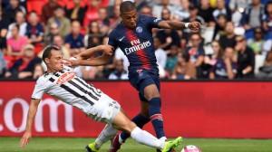 Mbappé, buteur face à Angers en début de saison
