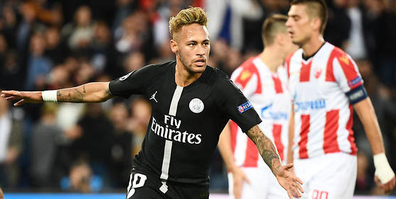 neymar belgrade