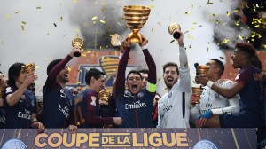 la joie de Thiago Silva face à Monaco la saison dernière