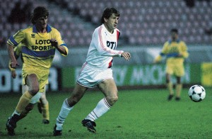 Safet Susic face à Orléans en 1989