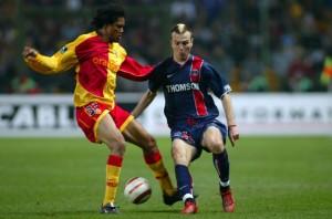 Lens, bête noire du PSG en 2003-2004