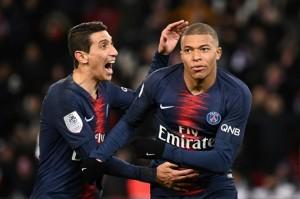 Mbappé et Di Maria, les deux fers de lance de l'attaque parisienne ce soir contre Montpellier