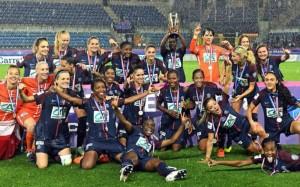la victoire en Coupe de France pour les filles en 2018