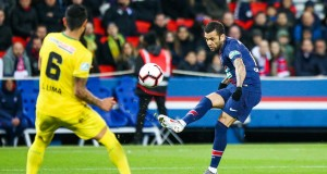 Daniel Alves, buteur lors du dernier PSG-Nantes en Coupe de France