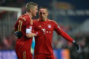 Le Bayern en 2012-2013, déjà avec Ribery