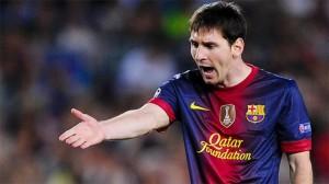 Messi et le Barca en 2012-2013