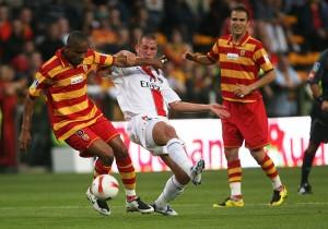 Didier Digard contre Lens en 2007