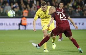 Meunir, un des rares joueurs parisiens victorieux il y a deux ans à Metz dans le groupe parisien ce soir