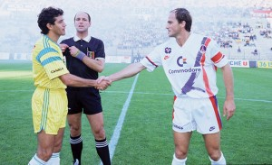 le 1er match du PSG version Canal Plus en 1991 face à Nantes