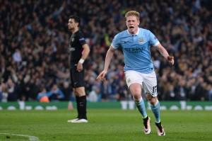 28 matches avec un au moins un but inscrit depuis Manchester Coty