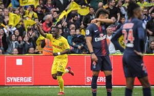 Fin de série à Nantes le 17 avril 2019 (défaite 2-3 du PSG)