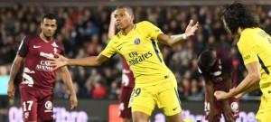 le premier but de Mbappé à Metz, le 8 septembre 2017