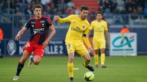 le 0-0 à Caen pour la der de Thiago Motta au PSG