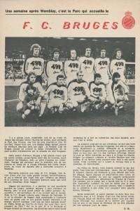 la présentation du FC - Club - Bruges