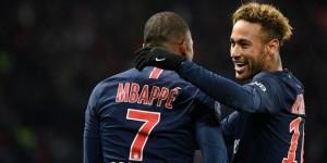 Neymar et Mbappé, buteurs la saison dernière face à Lille (2-1)