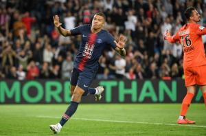 un triplé pour Mbappé lors du dernier match face à Monaco