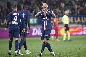 Angel Di Maria, monsieur Coupe de la Ligue