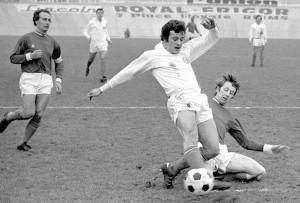 le PSG face à Valenciennes en Coupe de France en 1972
