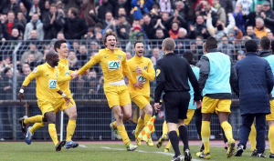 Epinal (CFA) vainqueur de Lyon en 2013