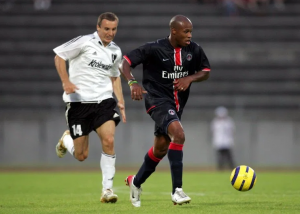 Pancrate face au Legia Varsovie en 2006