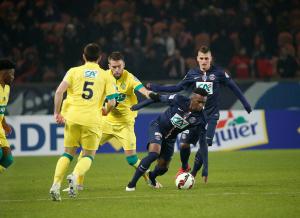 Verratti contre Nantes en 2015