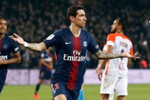 Angel Di Maria, meilleur buteur du PSG contre Montpellier