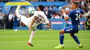 l'incroyable but de Neymar face à Strasbourg