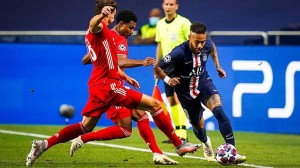 le PSG avait fait jeu égal avec le Bayern à Lisbonne