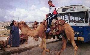 Safet Susic lors de la tournée parisienne en Israël