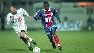 Bernard Allou face à Clermont en 1997