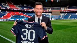Messi, un numéro 30 inédit
